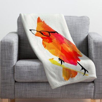 Robert Farkas Throw Blanket Size: 80 H x 60 W