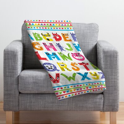 Andi Bird Throw Blanket Size: Medium