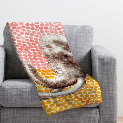 Garima Dhawan Throw Blanket Size: 60 H x 50 W