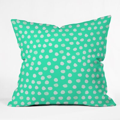 Throw Pillow Size: 16 H x 16 W x 4 D, Color: Green