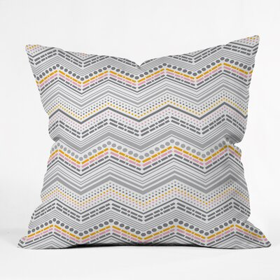 Indoor/Outdoor Throw Pillow Size: 18 x 18