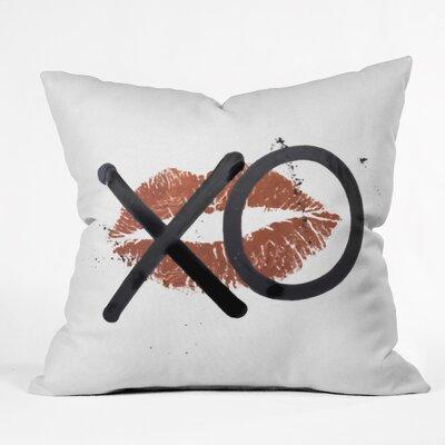 Indoor/Outdoor Throw Pillow Size: 18 H x 18 W x 5 D