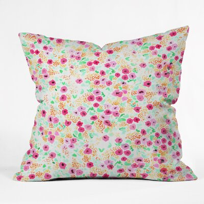 Bouck Floral Throw Pillow Size: 18 H x 18 W x 5 D