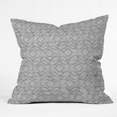 Gneural Shifting Pyramids Throw Pillow