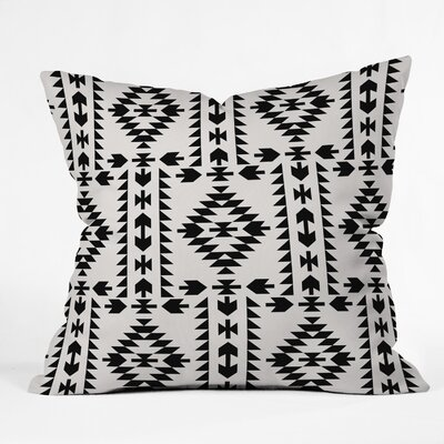 Throw Pillow Size: 18 H x 18 W x 5 D, Color: White