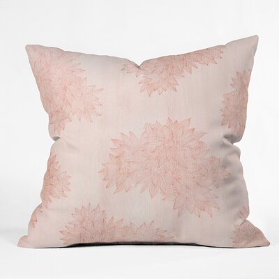 Throw Pillow Size: 18 H x 18 W x 5 D, Color: Pink