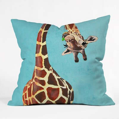 Nadine Indoor/Outdoor Throw Pillow Size: 16 H x 16 W x 4 D