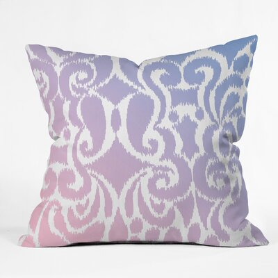 Throw Pillow Size: 18 H x 18 W x 5 D, Color: Pantone