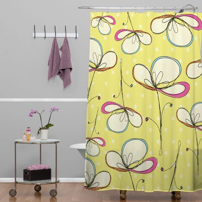 Rachael Taylor Floral Umbrellas Shower Curtain