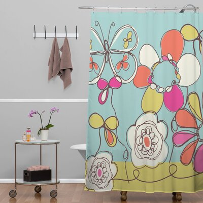 Rachael Taylor Fun Floral Shower Curtain