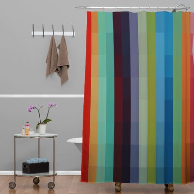 Madart Inc City Colors Shower Curtain
