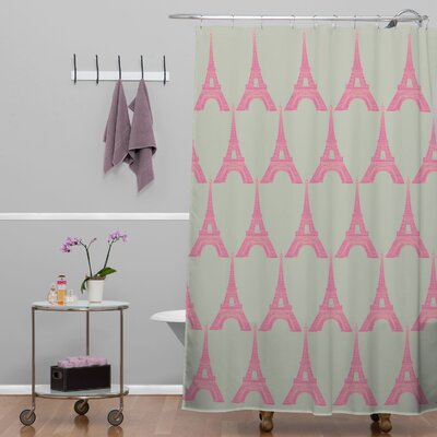 Bianca Green Oui Shower Curtain