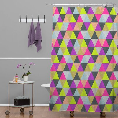 Bianca Green Ocean of Pyramid Shower Curtain