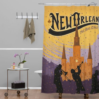 Anderson Design Group New Orleans One Shower Curtain