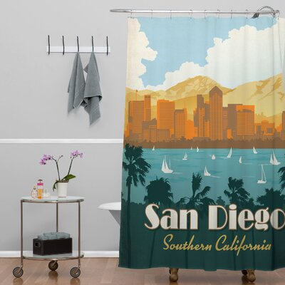 Anderson Design Group San Diego Shower Curtain