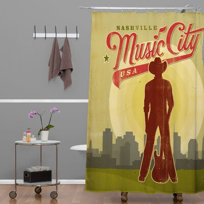 Anderson Design Group Music City Shower Curtain