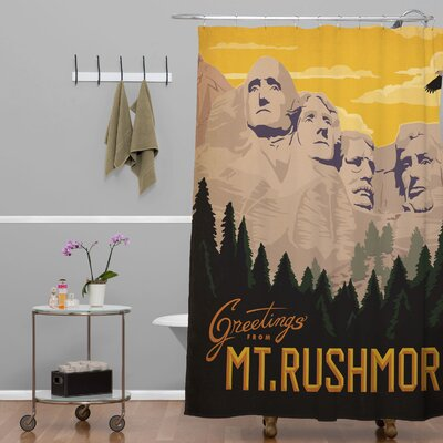 Anderson Design Group Mount Rushmore Shower Curtain