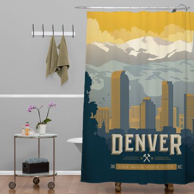 Anderson Design Group Denver One Shower Curtain