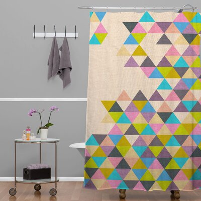 Bianca Green Completelyin Shower Curtain