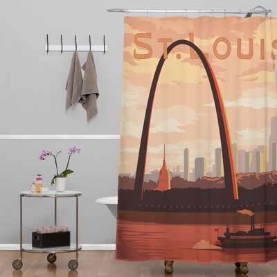 Anderson Design Group Saint Louis Shower Curtain