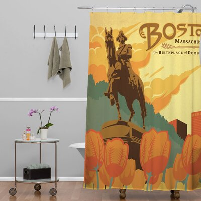 Anderson Design Group Boston Shower Curtain