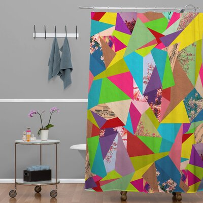 Bianca Green Colorful Thoughts Shower Curtain