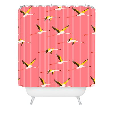 Shower Curtain Color: Crush