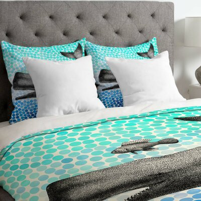 Garima Dhawan New Friends 3 Duvet Cover Size: Twin, Fabric: Lightweight