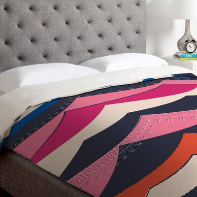 Vy La Unwavering Love Duvet Cover Size: King, Fabric: Lightweight