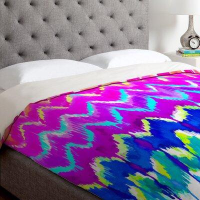 Holly Sharpe Summer Dreaming Duvet Cover Size: Queen, Fabric: Lightweight