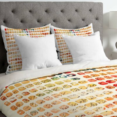 Susanne Kasielke Funny Blocks Duvet Cover Size: King, Fabric: Lightweight