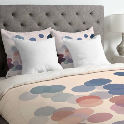 Gabi Wink Wink Duvet Cover Size: Twin, Fabric: Lightweight