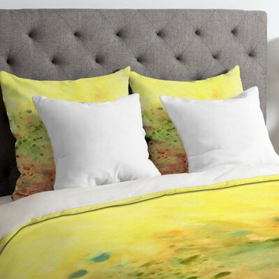 Rosie Brown Jeweled Pebbles Duvet Cover Size: King, Fabric: Lightweight