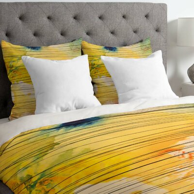 Susanne Kasielke Stripy Collage Duvet Cover Size: King, Fabric: Lightweight