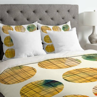 Susanne Kasielke Squared Circle Duvet Cover Size: Queen, Fabric: Lightweight
