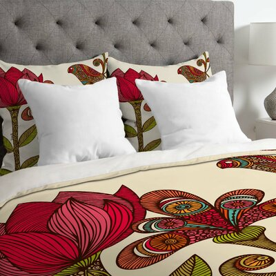 Valentina Ramos Lightweight In the Garden Duvet Cover Size: Queen