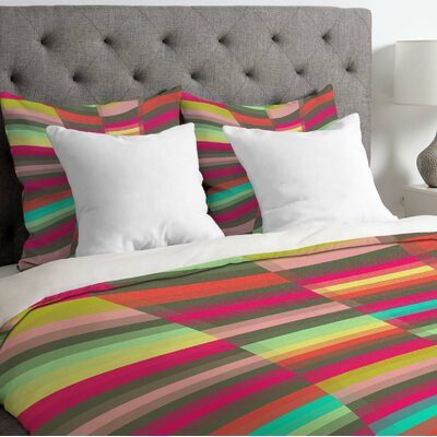 Jacqueline Maldonado Lightweight Spectacle Duvet Cover Size: King