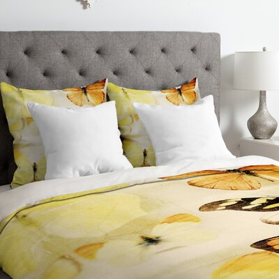 Chelsea Victoria Sherbert Dreams Duvet Cover Size: Queen, Fabric: Lightweight