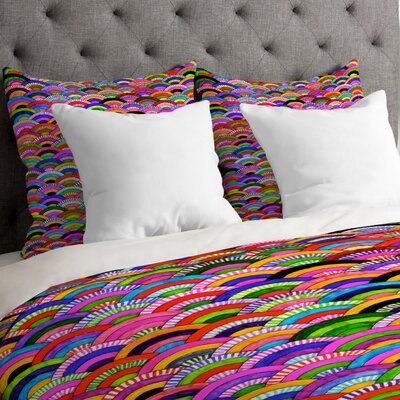 Fimbis A Good Day Lightweight Duvet Cover Size: Queen