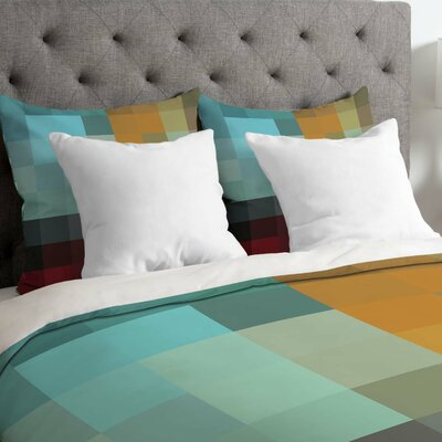 Madart Inc Lightweight Refreshing Duvet Cover Size: Queen