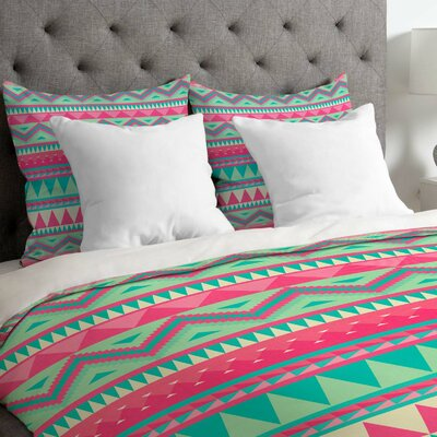 Iveta Abolina Lightweight Navajo Duvet Cover Size: Twin