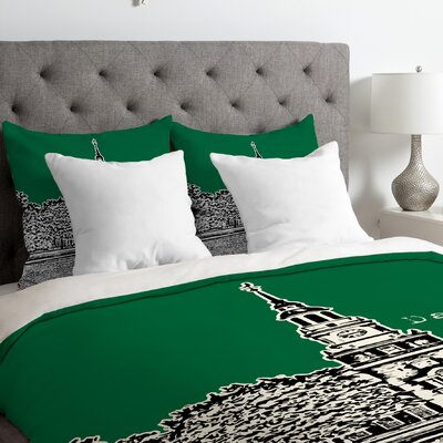 Bird Ave Lightweight Dartmouth College Duvet Cover Size: King