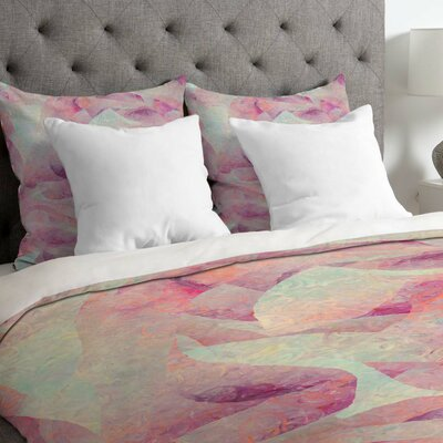 Jacqueline Maldonado Lightweight Sleep To Dream Duvet Cover Size: King