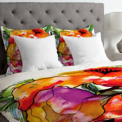 CayenaBlanca Big 2 Lightweight Duvet Cover Size: King