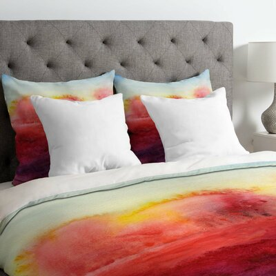 Jacqueline Maldonado Lightweight Where I End Duvet Cover Size: Twin