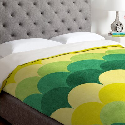 Arcturus Scales Duvet Cover Size: King, Fabric: Lightweight