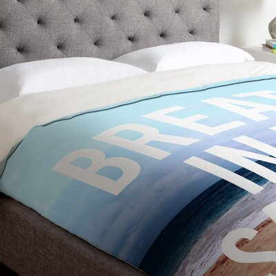 Leah Flores Breathe Duvet Cover Size: Queen, Fabric: Lightweight