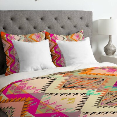 Pattern State Marker Southern Sun Duvet Cover Size: Queen