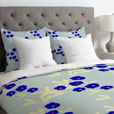 Morgan Kendall Bells Duvet Cover Size: King