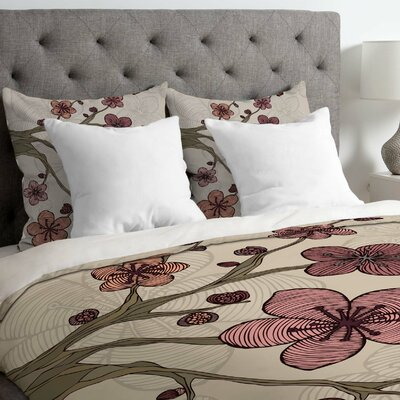 Valentina Ramos Down Duvet Cover Size: King, Fabric: Lightweight